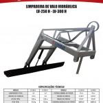 LV - LIMPADEIRA DE VALO H