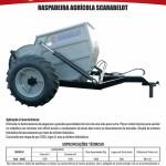 Metalúrgica Scarabelot - Folder Raspadeira Agrícola Scarabelot - 2016 - F-A4